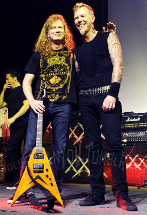Dave Mustaine Metallica Reunion Dave Mustaine And Metallica