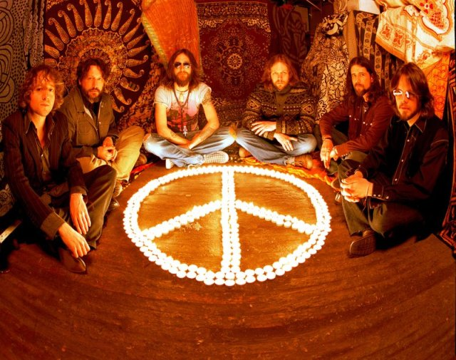 The Black Crowes Peace teepee