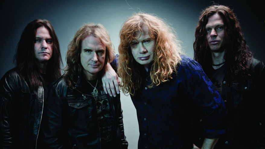 Megadeth jan 2013