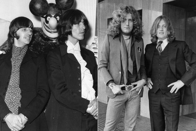 The Beatles Led Zeppelin