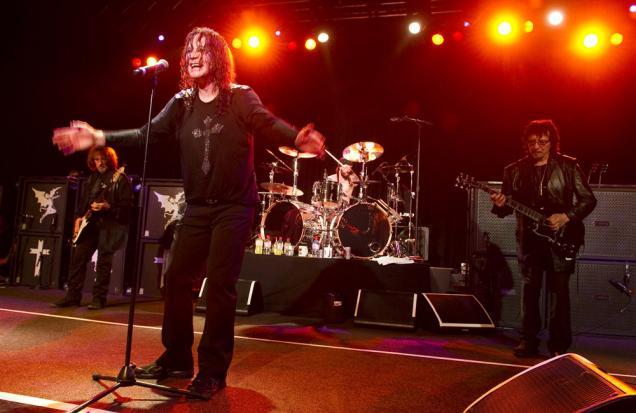 Black Sabbath Live 2012