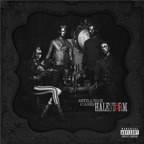 Halestorm-The-Strange-Case-Of Cover