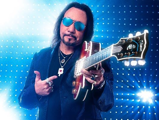 Ace Frehley Guitar promo
